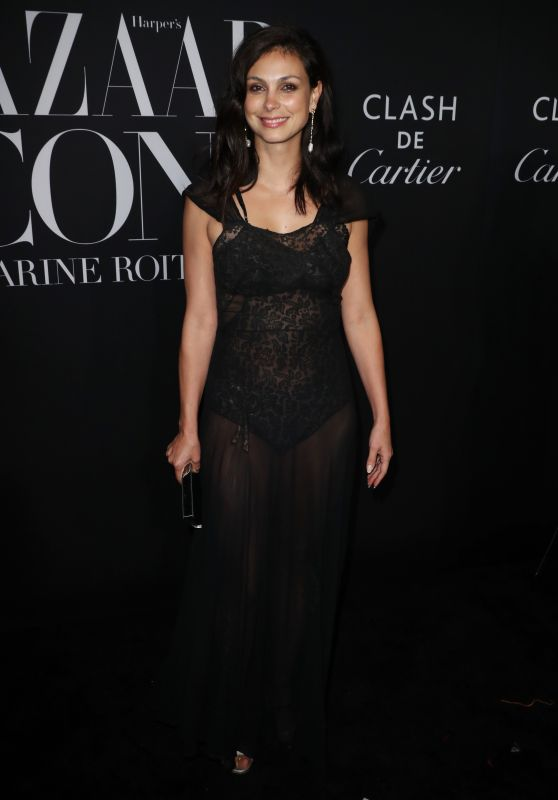 Morena Baccarin – 2019 Harper's Bazaar ICONS Party in NY