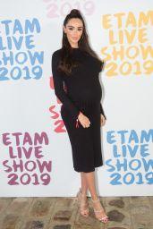 Nabilla Benattia – Etam Show at Paris Fashion Week 09/24/2019