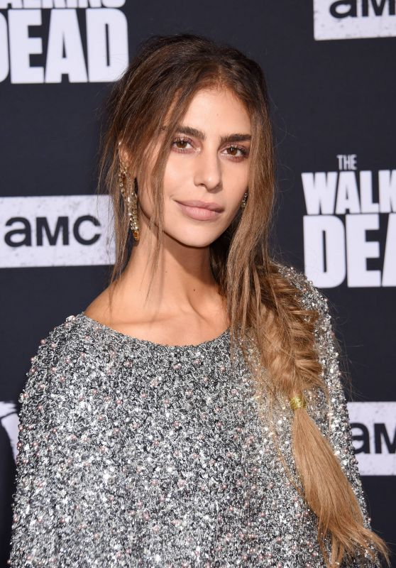 """Nadia Hilker – """"The Walking Dead"""" Season 10 Premiere in LA"""