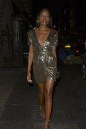 Naomie Harris - Celebrates her 42nd Birthday in Mayfair