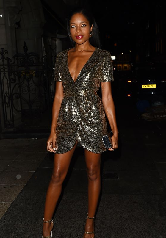 Naomie Harris - Celebrates her 42nd Birthday in Mayfair