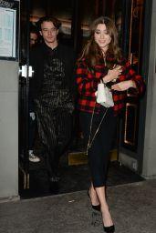Natalia Dyer and Charlie Heaton - Leaving Caviar Kaspia in Paris 09/24/2019