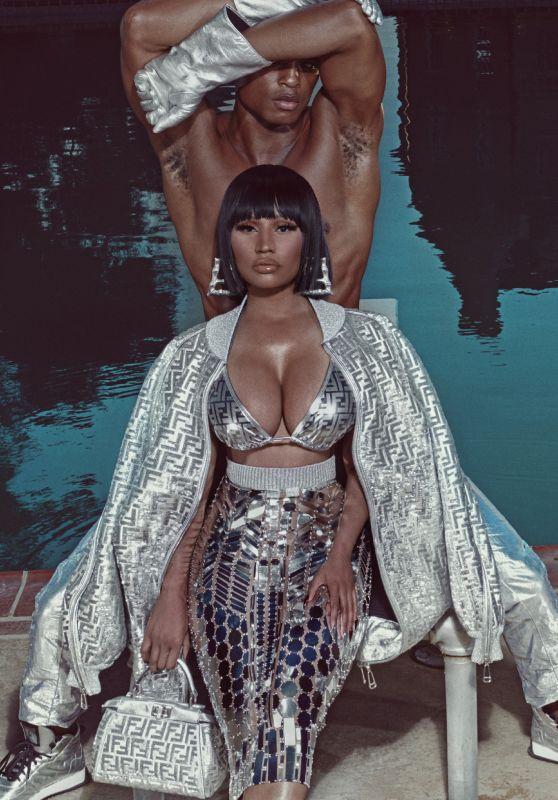 Nicki Minaj - ELLE US October 2019 Issue