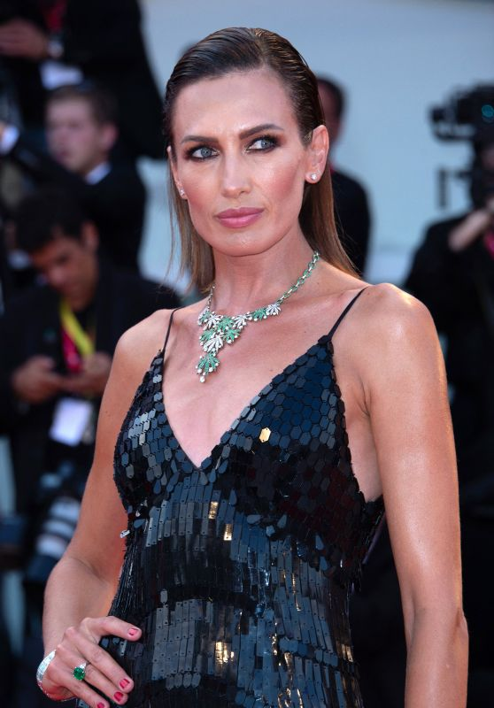 "Nieves Alvarez on Red Carpet – ""Joker"" Screening at the 76th Venice Film Festival"