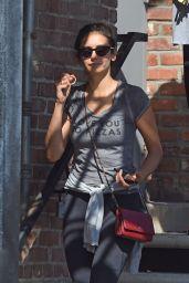 Nina Dobrev - Leaves the Gym in West Hollywood 9/10/2019