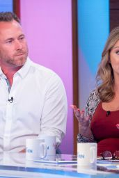 "Ola Jordan - ""Loose Women"" TV Show in London 09/19/2019"