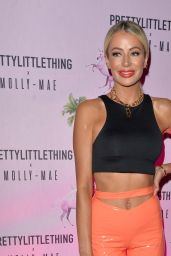 Olivia Attwood - Pretty Little Thing X Molly-Mae Party in Manchester 09/01/2019