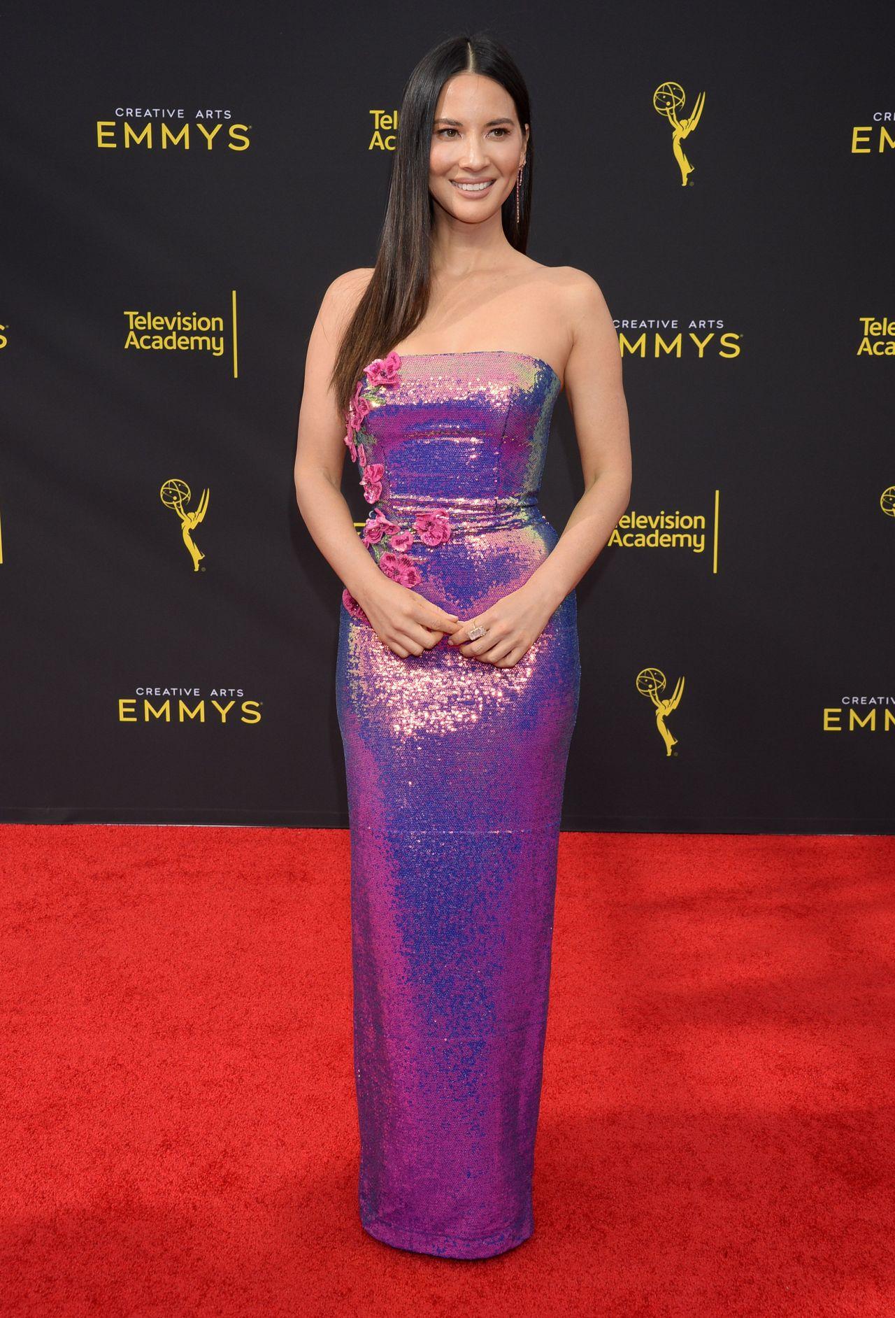 Olivia Munn - 2019 Creative Arts Emmy Awards in LA ...
