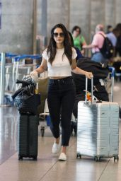 Olivia Munn - Catching a Flight From Montreal to LA 09/22/2019