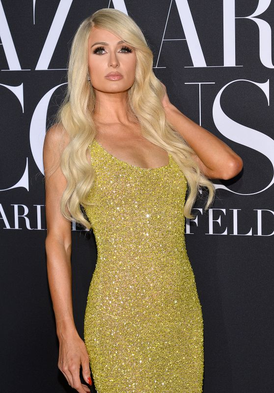 Paris Hilton – 2019 Harper's Bazaar ICONS Party in NY