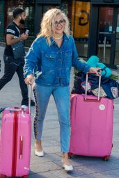 Pixie Lott in Travel Outfit at LAX in LA 09/19/2019