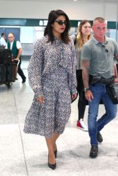 Priyanka Chopra - Milan Airport 09/18/2019