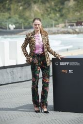 "Raffey Cassidy - ""The Other Lamb"" Photocall at San Sebastian Film Festival"