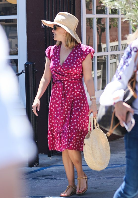 Reese Witherspoon - Lunch With a Friend in Brentwood 08/30/2019