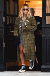 Rita Ora - Leaving Her Management Office in London 09/18/2019