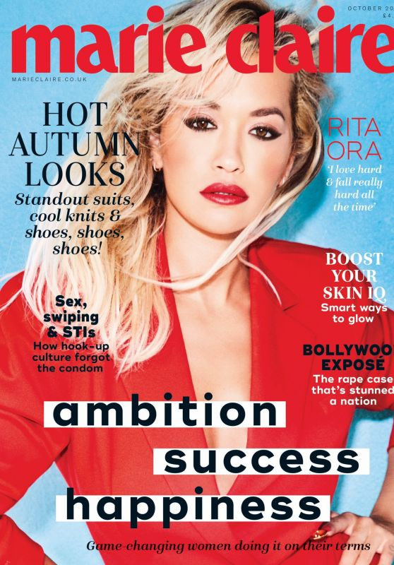 Rita Ora - Marie Claire Magazine UK October 2019 Cover