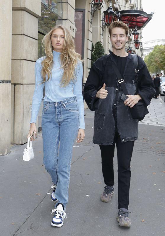 Romee Strijd - Out in Paris 09/25/2019