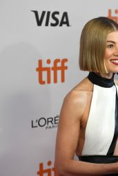 "Rosamund Pike - ""Radioactive"" Premiere at TIFF 2019"