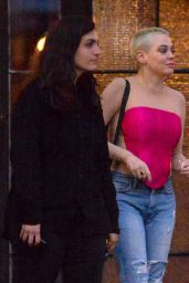 Rose McGowan - Outside The Bowery Hotel in NYC 09/14/2019