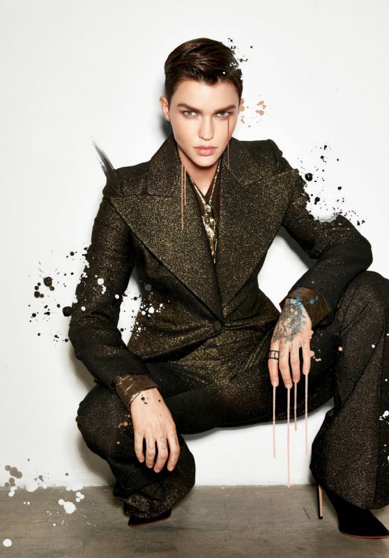Ruby Rose - Emmy Magazine October 2019 Issue