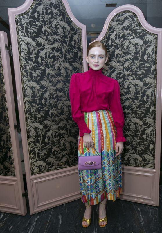 Sadie Sink - Gucci Zumi Handbag Collection Event in Chicago 09/26/2019