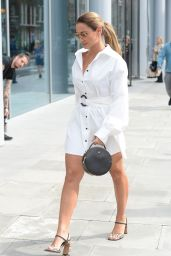 Sam Faiers – Leaving the ITV Offices in London 09/05/2019