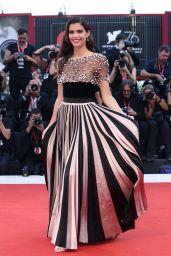 "Sara Sampaio on Red Carpet – ""Joker"" Screening at the 76th Venice Film Festival"
