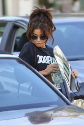 Sarah Hyland - Leaving DOGPOUND Gym in West Hollywood 09/11/2019