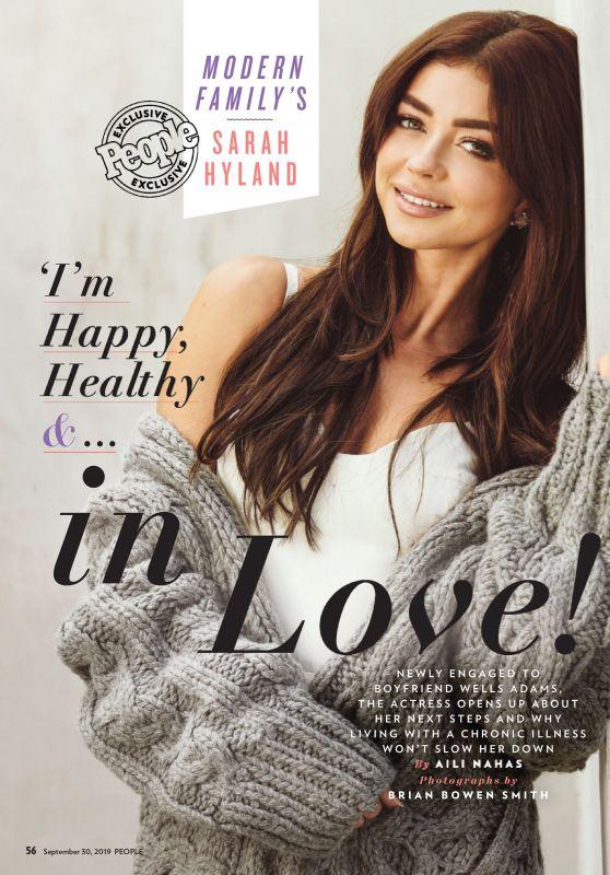 Sarah Hyland - People USA 09/30/2019 Issue