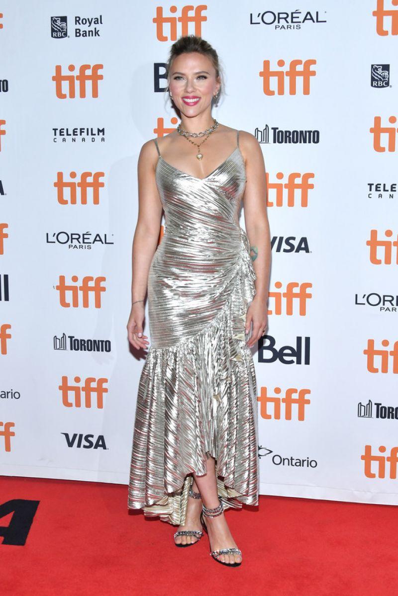 Scarlett Johansson holy shit HOT and sexy at JoJo Rabbit movie premiere 2019 TIFF