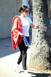 Selena Gomez - Leaving a Gym in LA 08/29/2019
