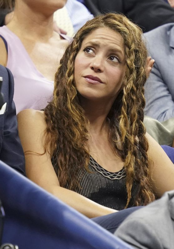 Shakira and Gerard Piqué - U.S. Open Tennis Championships in NY 09/04/2019