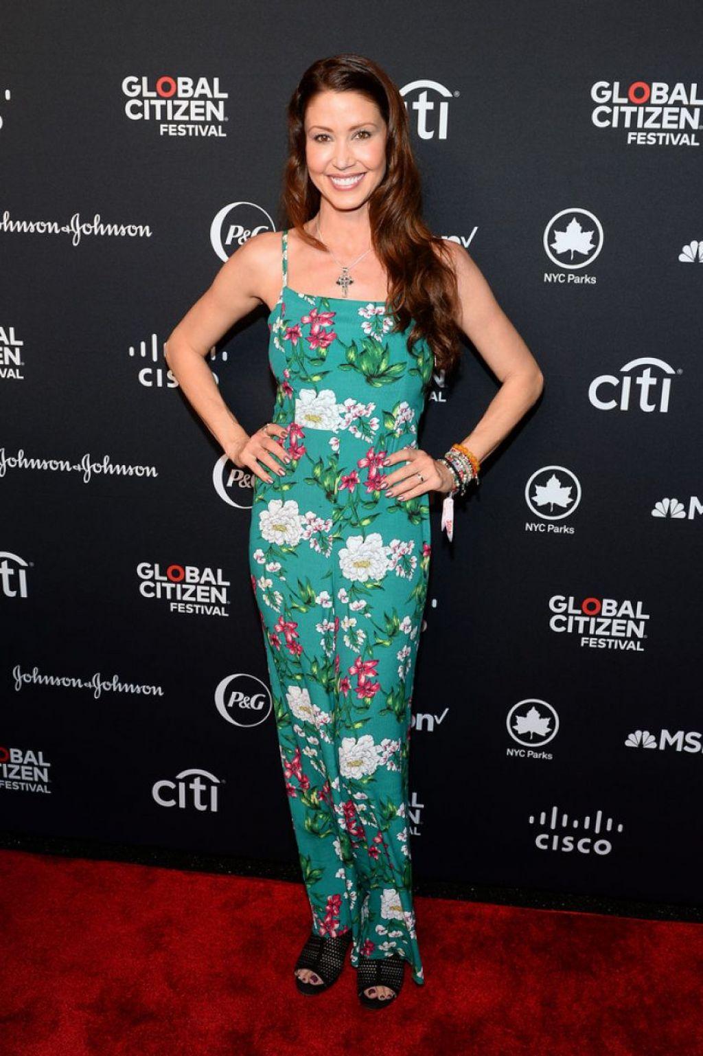 Shannon Elizabeth - Global Citizen Festival in NYC 09/28/2019 • CelebMafia