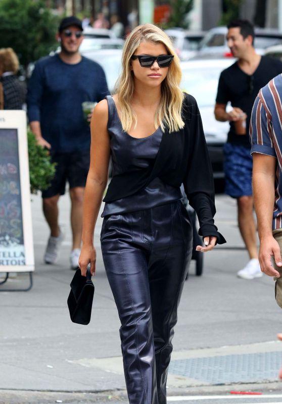 Sofia Richie - Shopping in New York 09/08/2019