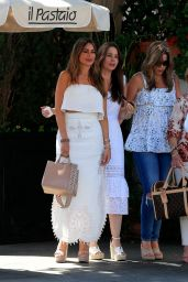 Sofia Vergara at Il Pastaio in Beverly Hills 08/31/2019