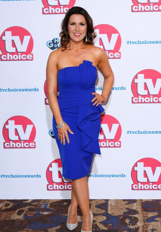 Susanna Reid – TV Choice Awards in London 09/09/2019