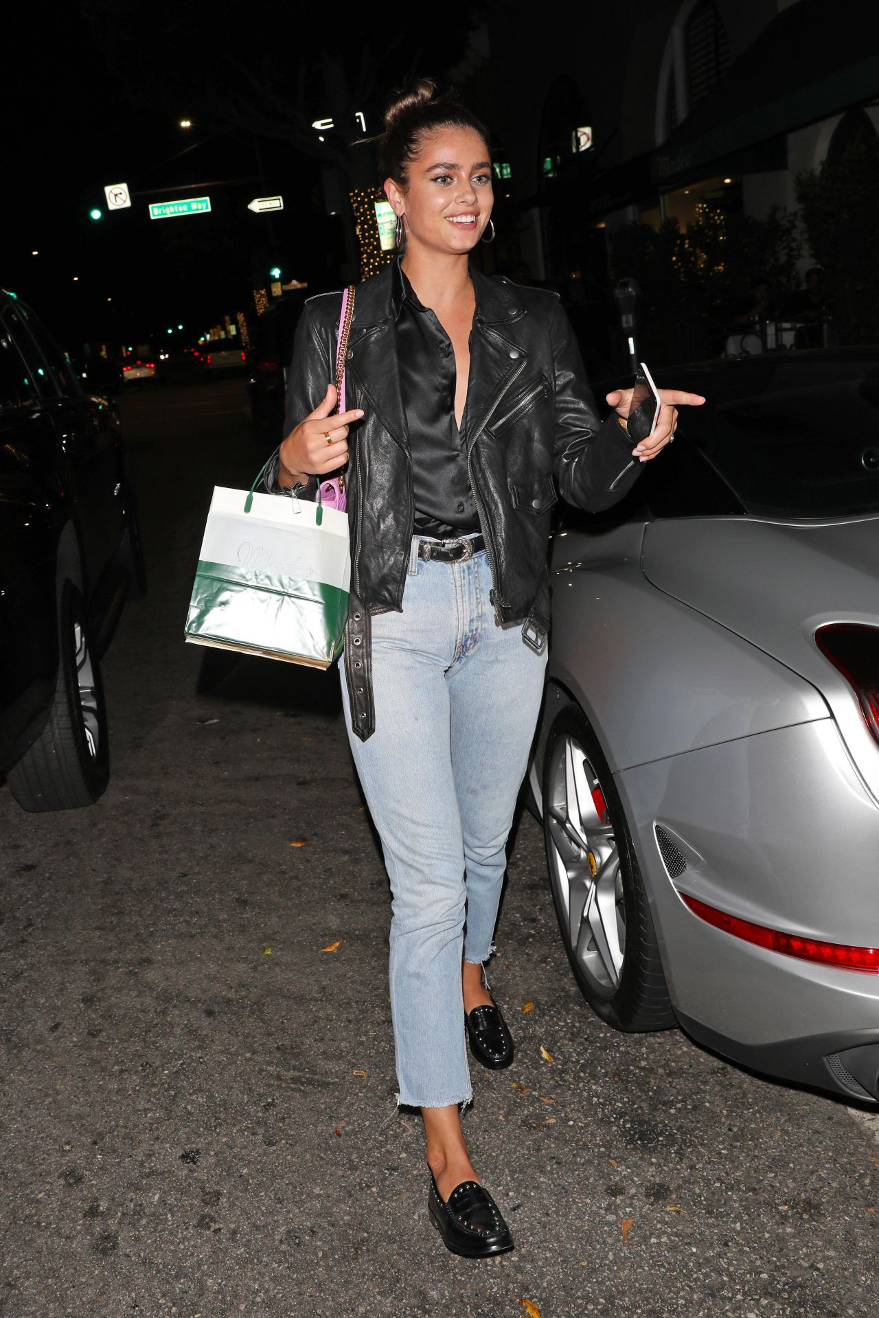 Taylor Hill Dinner At Madeo Italian Restaurant In Beverly