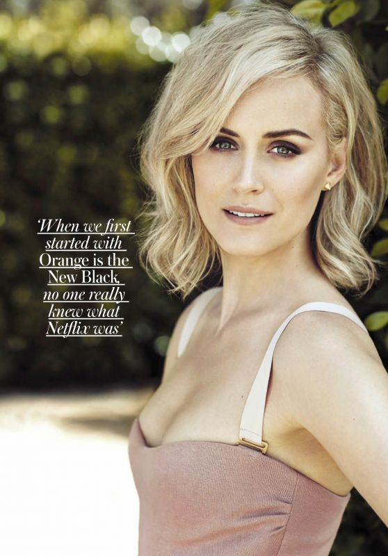 Taylor Schilling - Woman & Home South Africa October 2019 Issue