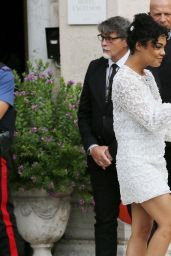 Tessa Thompson – Arriving at 76th Venice Film Festival
