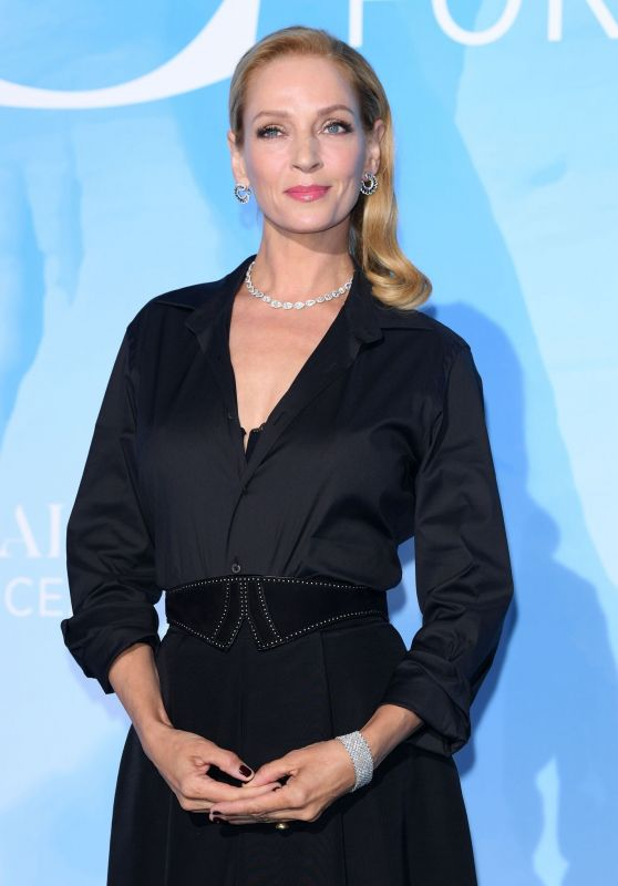 Uma Thurman – Global Ocean Gala in Monte-Carlo 09/26/2019