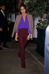 Victoria Beckham With David Beckham at a Private Dinner in London 09/15/2019