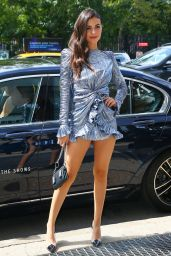 Victoria Justice - Outside Spring Studios for NYFW 09/08/2019