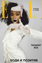 Winnie Harlow - ELLE Russia October 2019 Issue