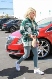 Witney Carson - Outside DWTS Studios in Los Angeles 09/21/2019