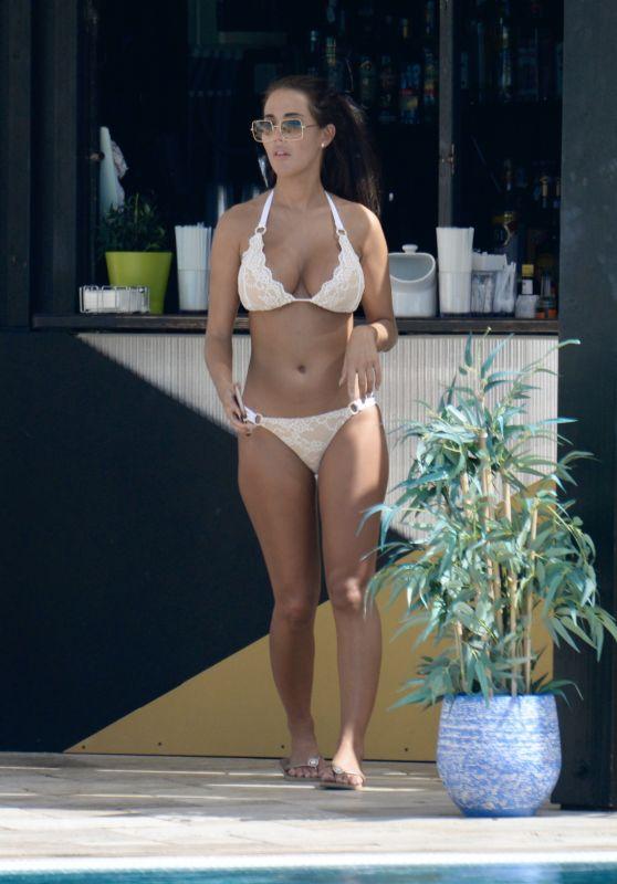 Yazmin Oukhellou in a Bikini in Marbella 09/18/2019