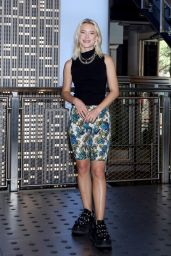 Zara Larsson - Photoshoot at Empire State Building in NYC