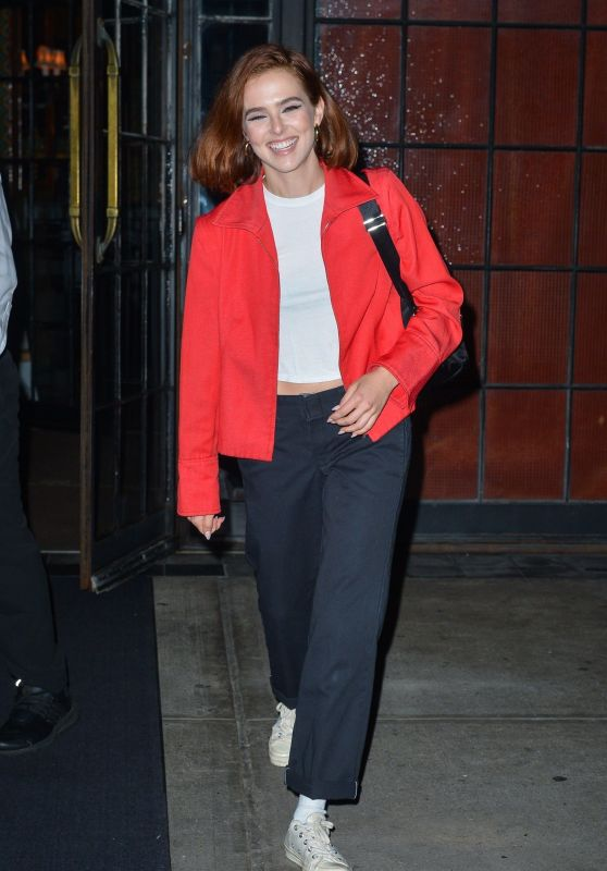 Zoey Deutch - Outside The Bowery Hotel in NYC 09/10/2019
