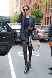 Adriana Lima Style - New York 10/17/2019