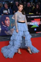"""Aimee Kelly – """"The Personal History of David Copperfield"""" Premiere at BFI London Film Festival"""