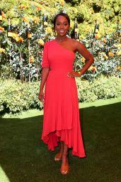 Aja Naomi King – Veuve Clicquot Polo Classic in LA 10/05/2019